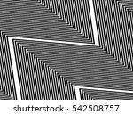 oblique  diagonal lines edgy... | Shutterstock .eps vector #542508757
