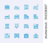 interior icons | Shutterstock .eps vector #542538307