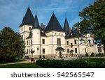 andrassy castle in tiszadob ... | Shutterstock . vector #542565547