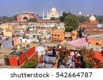 Agra  India January 28  View O...