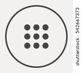 a catalog vector minimal single ... | Shutterstock .eps vector #542667373