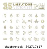vector graphics set.... | Shutterstock .eps vector #542717617