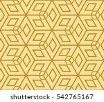 seamless pattern based on the... | Shutterstock . vector #542765167