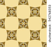 abstract geometric pattern of... | Shutterstock . vector #542768353