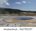 the hot water in crested pool...