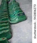Pairs Of Plastic Last Shoes