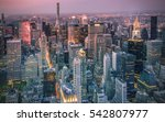new york city scape | Shutterstock . vector #542807977