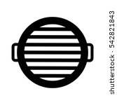 oven grill bbq icon vector... | Shutterstock .eps vector #542821843