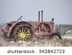 Horizontal Image Of An Old...