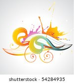 colorful abstract vector design ...   Shutterstock .eps vector #54284935