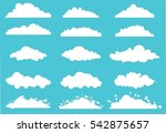 clouds. vector illustration....