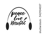 Peace  Love  Music.modern...