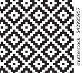 geometric squares seamless... | Shutterstock .eps vector #542935957