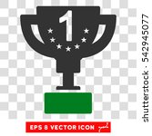 vector first prize eps vector... | Shutterstock .eps vector #542945077