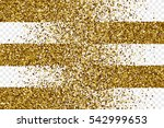 golden shiny tinsel square... | Shutterstock .eps vector #542999653