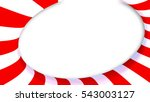 3d rendering red and white... | Shutterstock . vector #543003127
