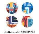 programming mobile application... | Shutterstock .eps vector #543006223