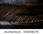 abstract of metal line curve... | Shutterstock . vector #543048193