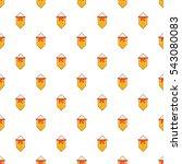 flag football team pattern.... | Shutterstock .eps vector #543080083