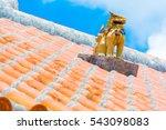 Okinawa Ryukyu Style Roof With...