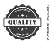stamp badge tag quality... | Shutterstock .eps vector #543102553