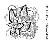 zentagle art | Shutterstock .eps vector #543111133