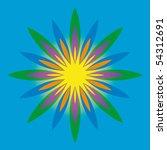 background geometry | Shutterstock .eps vector #54312691