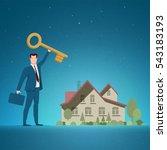 business concept vector... | Shutterstock .eps vector #543183193