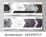 set of business templates for... | Shutterstock .eps vector #543190717