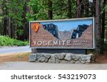 welcome entrance sign in the... | Shutterstock . vector #543219073