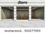 Modern Elite Empty Store Front...