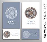 mandala round ornaments ...   Shutterstock .eps vector #543307177