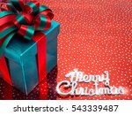 color gift box on color ... | Shutterstock . vector #543339487