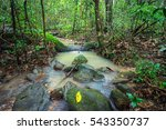 waterfall in the rainforest | Shutterstock . vector #543350737