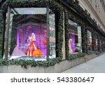 new york   december 15  2016 ... | Shutterstock . vector #543380647