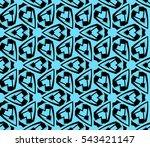 modern stylish texture.... | Shutterstock .eps vector #543421147