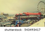 cape town waterfront with... | Shutterstock . vector #543493417