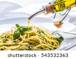 spaghetti. spaghetti with... | Shutterstock . vector #543532363