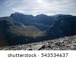 summer mountain peaks | Shutterstock . vector #543534637