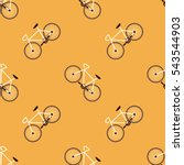 bicycle retro background sport... | Shutterstock .eps vector #543544903