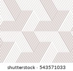 abstract geometric pattern with ... | Shutterstock . vector #543571033