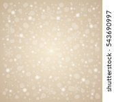 christmas   new year snow... | Shutterstock .eps vector #543690997