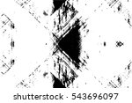 grunge black and white urban... | Shutterstock .eps vector #543696097