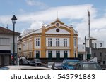 ribeira grande city theater  ... | Shutterstock . vector #543791863