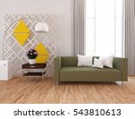 white room with a sofa. living... | Shutterstock . vector #543810613