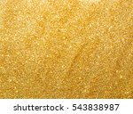 sparkles gold background | Shutterstock . vector #543838987