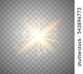 glitter particles background... | Shutterstock .eps vector #543896773