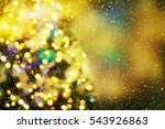 christmas background  | Shutterstock . vector #543926863