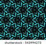 color design geometric pattern. ... | Shutterstock .eps vector #543994273