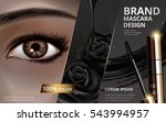 mascara design picture... | Shutterstock .eps vector #543994957